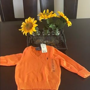 Ralph Lauren polo sweater size 24 months infants